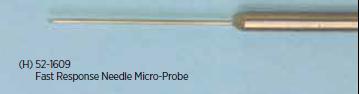 Copper Constantan Thermocouple Fast Response Needle Micro-Probes