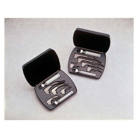 Miller Fiber Optic Laryngoscope Set