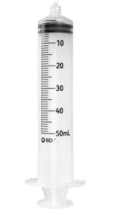 Becton Dickinson Plastic Syringes