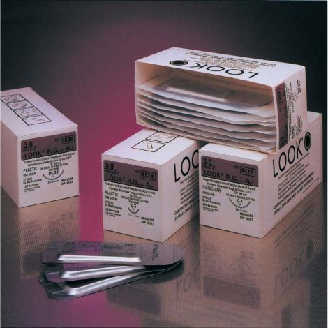 Sutures, 3/8 Circle, Reverse Cutting Precision Point Needles