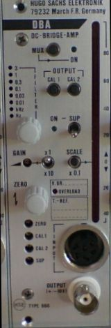 PLUGSYS DC Bridge Amplifier Module (DBA)