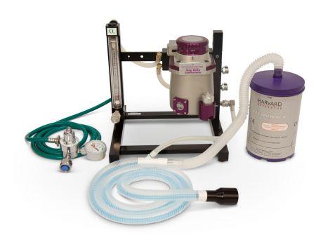 72-6468 Harvard Apparatus Single Animal Tabletop Isoflurane Anesthesia System with Small Induction Box