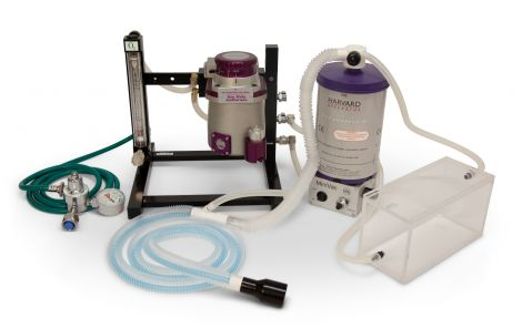 75-0233 MiniVac Complete Anesthesia System with Induction Box