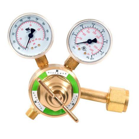 H-Cylinder Dual Manometer Regulator
