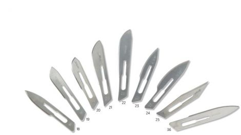 Sterile Scalpel Blades for use with No. 4 Handles