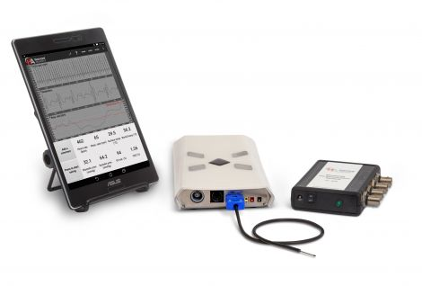 Small Animal Physiological Monitoring System