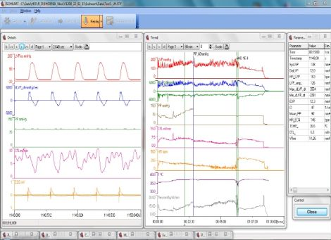 ISOHEART Data Acquisition Software for Isolated Heart Experiments