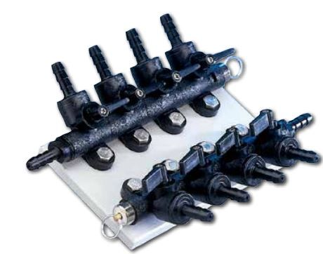 Anesthetic Manifold with multiple ports