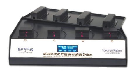 Blood Pressure Analysis System for Multiple Mice and Rats (MC4000)